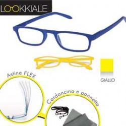 OCCHIALE DIOTTRIE +1,00 mod. SMART giallo LOKKIALE