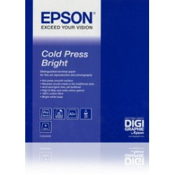 EPSON COLD PRESS BRIGHT PAPER, IN ROTOLI DA 43, 18CM X 15, 2M