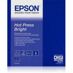EPSON HOT PRESS BRIGHT PAPER, IN ROTOLI DA 43, 18CM X 15, 2M