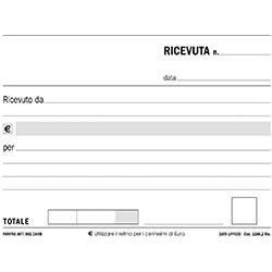 50076 BL.50 RICEVUTE 2 CP 17x12 AUTOC. 162570000