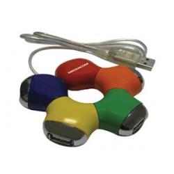 69345 HUB USB 2.0 4 PORTEMEDIACOM