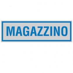 TARGHETTA ADESIVA 165x50mm MAGAZZINO - Conf da 10 pz.