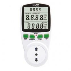 MISURATORE DI POTENZA E CONSUMI Power Easy C/DISPLAY LCD MELCHIONI