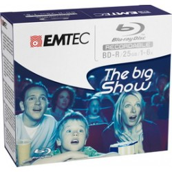BD-R EMTEC 25GB 1-6x JEWEL CASE (kit 5pz)