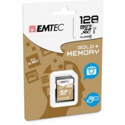 SDXC EMTEC 128GB CLASS 10 GOLD +