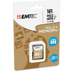 SDHC EMTEC 16GB CLASS 10 GOLD +