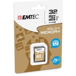SDHC EMTEC 32GB CLASS 10 GOLD +