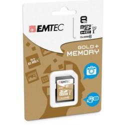 SDHC EMTEC 8GB CLASS 10 GOLD PLUS