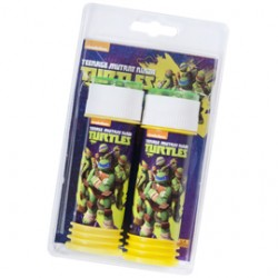 BOLLE SAPONE TURTLES - BLISTER 2 FLACONI