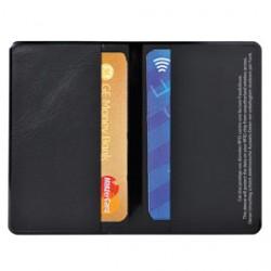 HIDENTITY Doppio 95x60mm per bancomat /carta di credito NERO Exacompta - Conf da 10 pz.