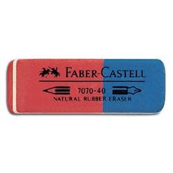 26003 GOMMA FABER CASTELLROSSO/BLU 7070/40