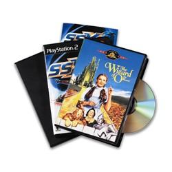 62725 CF.10 CUSTODIE     RETTANGOLARI DOPPIE X DVD