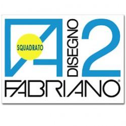 ALBUM P.M. FABRIANO2 (240X330MM) 10FG 110GR LISCIO SQUADRATO - Conf da 10 pz.