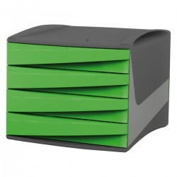 CASSETTIERA VERDE ACIDO  Fellowes G2D