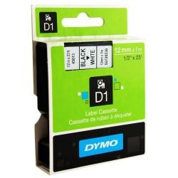 NASTRO 12mm X 7m NERO/BIANCO DYMO D1 450130