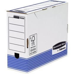 SCATOLA ARCHIVIO DORSO 10 Fellowes BANKERS BOX SYSTEM 00265