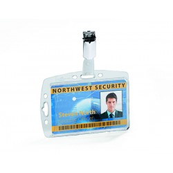 41266 CONF.10 P/BADGE    CON CLIP DURABLE 54HX85