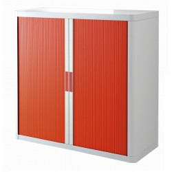 ARMADIO EASYOFFICE       BIANCO/ROSSO 110X41,5X104