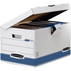 SCATOLA ARCHIVIO MAXI CON COPERCHIO Fellowes BANKERS BOX SYSTEM 11415