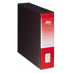 REGISTRATORE BLU Rexel dox 9 DORSO 8