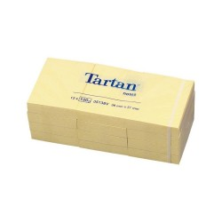 CONFEZIONE 12 BLOCCHI 3M Tartan notes 38X51 10523