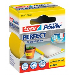 NASTRO ADESIVO TELATO 38X 2,75 GIALLO tesa PERFECT extra Power