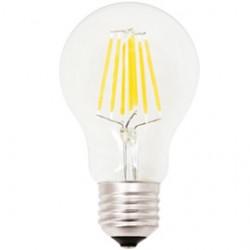 LAMPADA LED Goccia A60 a filamento 6W E27 3000K luce calda