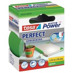 NASTRO ADESIVO TELATO 38X 2,75 VERDE tesa PERFECT extra Power