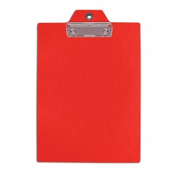 40594 P/BLOCCO SEMPLICE  IN PVC   ROSSO