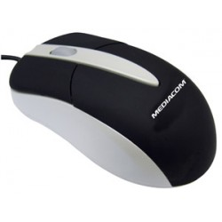 MOUSE OTTICO+SCROLL      MEDIACOM USB/PS2  3 TASTI