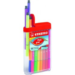 Pen Pac 18 STABILO Pen 68 Mini