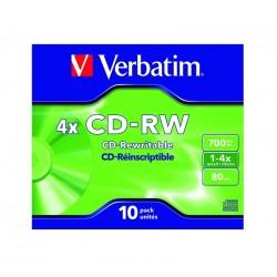 SLIM CD-RW Verbatim