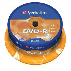 CAMPANA 25 DVD-R Verbatim