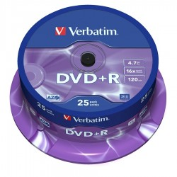 CAMPANA 25 DVD+R Verbatim