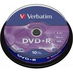 CAMPANA 10 DVD+R Verbatim