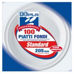 100 PIATTI FONDI  205mm Dopla Professional