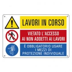 CARTELLO ALLUMINIO 50x33,3cm