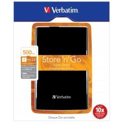 "HARD DISK ESTERNO 3.0 Store 'n' Go 2,5"" 500GB Verbatim"