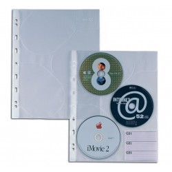CONFEZIONE 10 BUSTE A4 A FORATURA UNIVERSALE SEI ATLA CD3