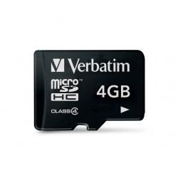 MICRO SDHC Verbatim CLASS 4 4GB