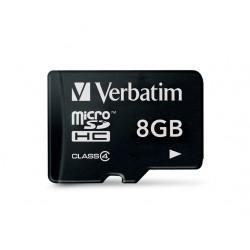 MICRO SDHC Verbatim CLASS 4 8GB