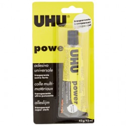 COLLA TRASPARENTE EXTRAFORTE UHU POWER 45ML