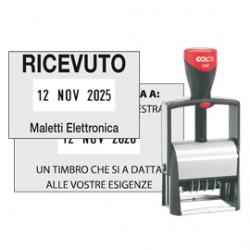 TIMBRO DATARIO PERSONALIZZABILE 2360 30X45mm CLASSIC LINE COLOP