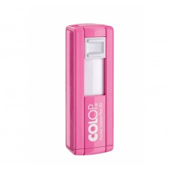 21139 TIMBRO POCKET STAMP PLUS COLOP ROSA 14X38