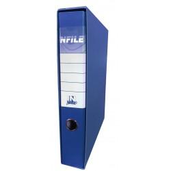 40971 REGISTRATORE INFILE PLASTICA PROT. D.5 BLU