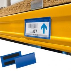 50 BUSTE IDENTIFICAZIONE 150x67mm con BANDA MAGNETICA 1742 Durable