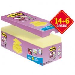 VALUE PACK 20 BLOCCH 90fg Post-it Super Sticky Z-notes 76X76MM R-330-SSCY-VP20