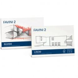 ALBUM FAVINI 2 24X33CM 110GR 20FG RUVIDO - Conf da 10 pz.