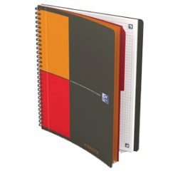 BLOCCO SPIRALATO 18X25cm f.to NOTEBOOK 80fg 80gr OXFORD INTERNATIONAL FAVORIT - Conf da 5 pz.