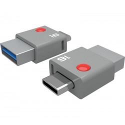 CHIAVETTA DUO USB-C 3.0 16 GB EMTEC